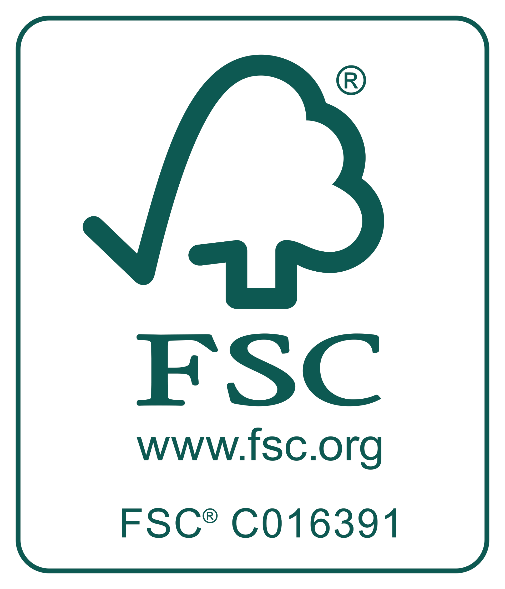 Logo FSC - Drukkerij De Croon van Heerbeek